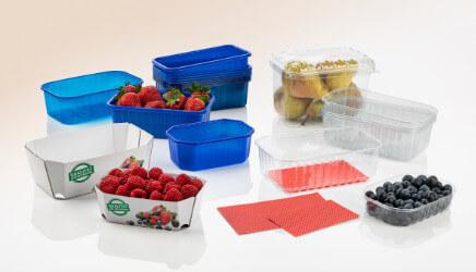 Obst- und Gemüseschalen