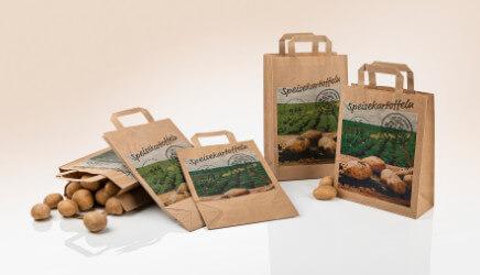 Kartoffeltragetaschen